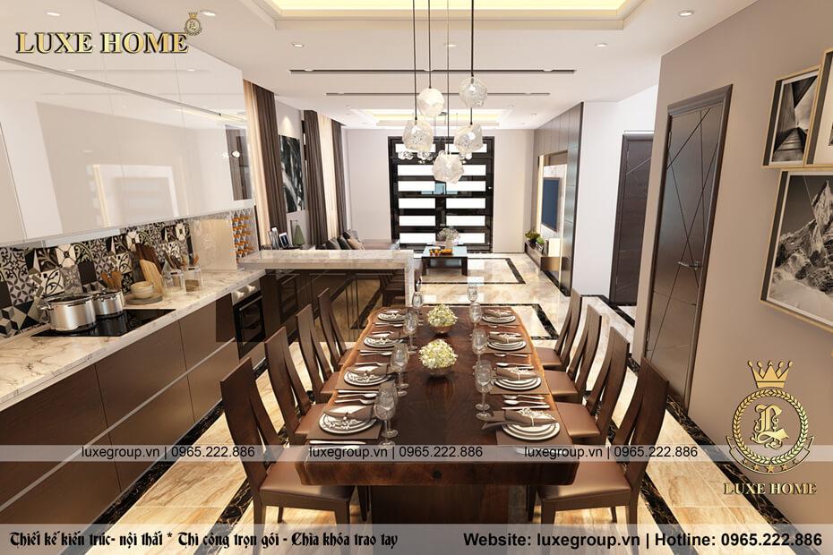thiết kế nội thất phòng bếp nt 2123 08