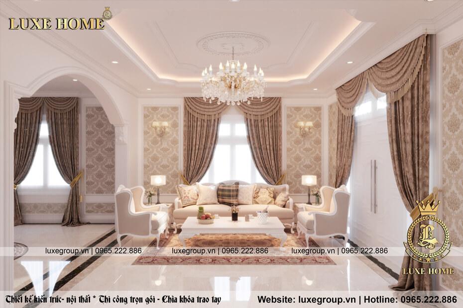 thiết kế nội thất phòng khách nt 0115 01