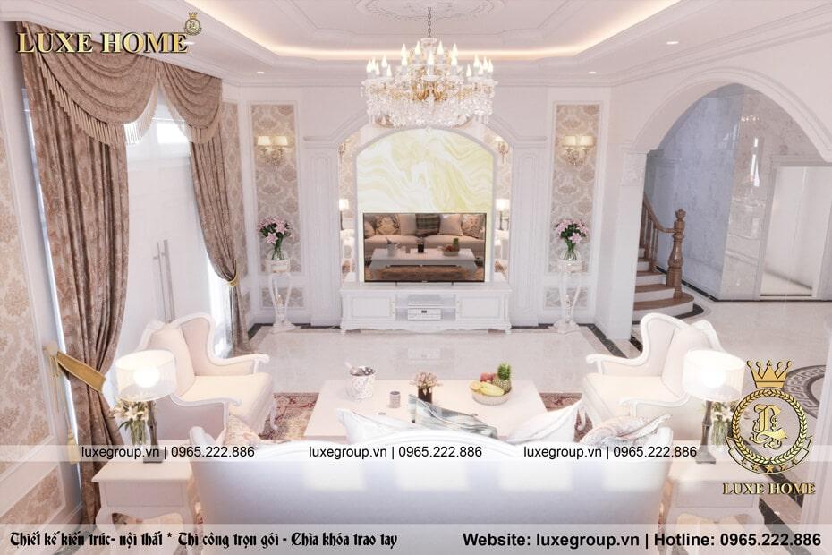 thiết kế nội thất phòng khách nt 0115 02