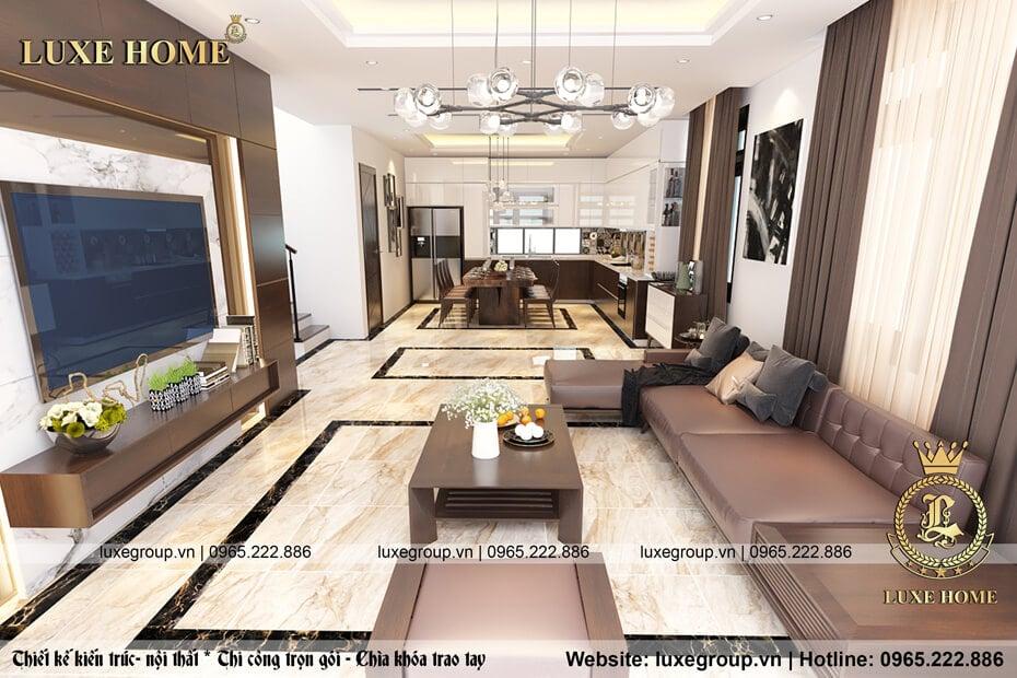thiết kế nội thất phòng khách nt 2123 05